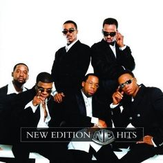 New Edition. My first crushes. They're my generation's Temptations. And their solo careers  also produced classic music.