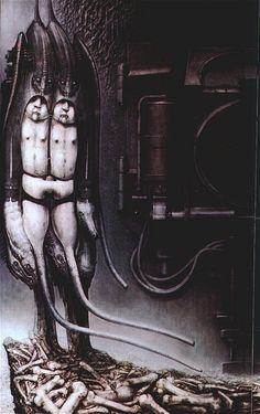 Passage Temple (Death) - Hans Rüdi Giger