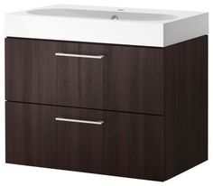 Narrow IKEA Bathroom Sink