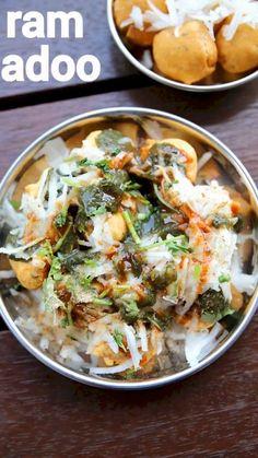 Pakora Recipes, Paratha Recipes, Chaat Recipe, Burfi Recipe, Spicy Recipes, Vegetarian Recipes, Cooking Recipes, Garlic Recipes, Cooking Videos