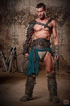 Andy frontal spartacus whitfield