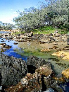 Yuraygir National Park, near Coffs Harbour, Australia Tasmania, Wonderful Places, Beautiful Places, Australia Landscape, Australian Continent, Spring Lake, Travel Tours, Australia Travel, Nature Scenes