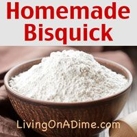 Homemade Bisquick Baking Mix Recipe - Living on a Dime To Grow Rich Bisquick Baking Mix Recipe, Bisquick Recipes, Homemade Spices, Homemade Seasonings, Do It Yourself Food, Baking Tips, Snack, Diy Food, Food Tips