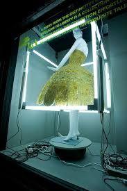Image result for lights behind mannequins shop front