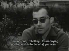 jean-luc godard on being an artist Cinema Quotes, Film Quotes, Rebel, Citations Film, Jean Luc Godard, Aesthetic Words, Movie Lines, Film Stills, Mood Quotes