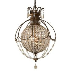 I pinned this Murray Feiss Bellini Pendant from the English Manor Home event at Joss and Main!