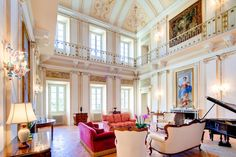 The Music Room - Villa Passalacqua | Moltrasio #lakecomoville