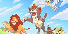 Pride Lands  [kingdom hearts 10th anniversary calendar] :D <3