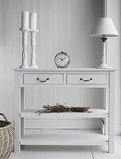 Gentil British Colonial Furniture Range   A Grey Console Table. Affordable And  Elegant Storage Solutions For Your Home From The White Lighthouse |  Pinterest ...