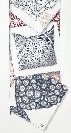 Quandry (official tangle) by Maria Thomas, Zentangle Co-Founder with flash mob ode to joy