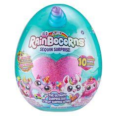 Rainbocorns Series 2 Ultimate Surprise Egg by Zuru - White Llamacorn Little Girl Toys, Toys For Girls, Rainbow Corn, New Egg, Top Toys, Plush Animals, Easter Baskets, Christmas Bulbs, Walmart
