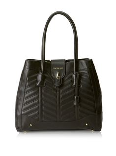 as prominently featured on NYC billboards ... London Fog Women's Lark Tote at MYHABIT ... good price.