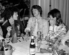 Mick Rock - Lou Reed, Mick Jagger, David Bowie, Ziggy Stardust Farewell Party, ...