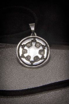 Excited to share the latest addition to my #etsy shop: Star Wars : Galactic Empire Sterling silver pendant / Star Wars Imperial Logo Necklace / Dark Side / Sterling Silver http://etsy.me/2tsFXlV #jewelry #necklace #silver #no #girls #black #fantasyscifi #chinesenewyear