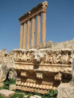 Baalbeck; Lebanon