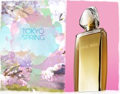 """Amid the electric bustle of the city, cherry blossom trees burst with life: an intoxicating blend of ancient nature and modern culture."" Adventures in Perfume at Nordstrom"