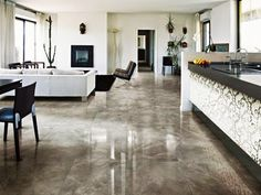 Granite Flooring To Beautify Your Living Room | Living room ...