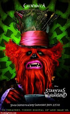 #StarWars movie poster mash-ups - too funny! the #Chewbacca ones are the best!