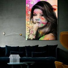 Kelly Clarkson Wall Art | Lisa Jaye Art Designs