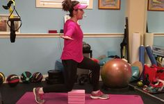 A shallower motion, possibly using props for stability, will help keep your joints happy.
