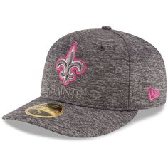 24fbc6cc568 Mens New Era New Orleans Saints Training 39THIRTY Flex Hat-Black ...