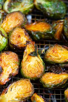40736661811 These Sweet and Spicy Air Fryer Brussel Sprouts come out perfect when  cooked in your Air