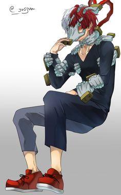 Todoroki Shouto (Tomura Shigaraki Costume)    Boku no Hero Academia