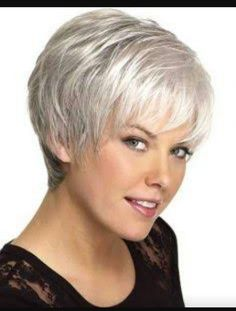 Dressing yourself with our designer short wigs and make you look like stylish and fashion. Short wigs online shopping is your best choice. These short wigs are ideal for looking chic and feeling cool. Hair Cuts For Over 50, Hair Styles For Women Over 50, Short Hair Cuts For Women, Long Hair Styles, Hair Styles Older Women, Pixie Styles, Short Styles, Haircuts For Fine Hair, Best Short Haircuts