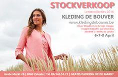 Stockverkoop stijlvolle en kwalitatieve dameskleding collectie lente 2016 -- Zelzate -- 06/04-08/04