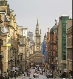 Glasgow, Scotland and info on other cities: http://myinternationaladventure.com/12/live-in-the-united-kingdom/