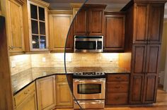 Oak Kitchen Cabinet Stain Colors : Popular Kitchen Cabinet Stain Colors – Colored Kitchen Cabinets