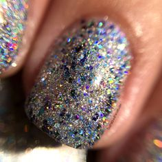 """Glam Polish """"I'd Have Ugly Nails Without Nikki"""" Duo - Limited Edition - The Polished Pursuit Blue Glitter, Indie Brands, Happy Weekend, Being Ugly, Rings For Men, Polish, Purple, Nails, Pretty"""