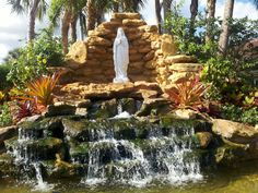 Grotto at Our Lady of Lourdes-Miami FL