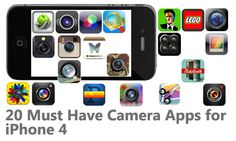 20 Must Have Camera Apps for iPhone 4