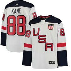 f4b05c3ca adidas Patrick Kane US Hockey White 2016 World Cup of Hockey Premier Player  Jersey
