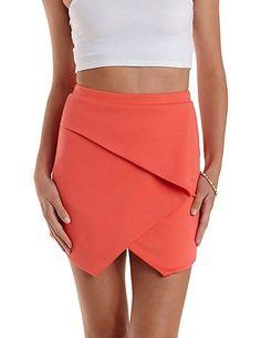 Bodycon Origami Envelope Skirt: Charlotte Russem #skirt #bodycon