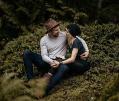 Olive and Bean Photo is a Vancouver, BC based natural light portrait and family photography duo. We are passionate about capturing memories of individuals and their loved ones Natural Fashion, Messy Hairstyles, Couple Photography, Vancouver, First Love, Memories, Engagement, Lifestyle, Portrait