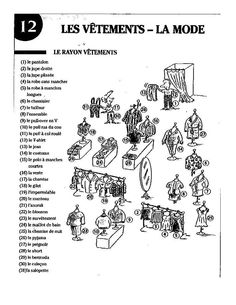 1000 images about les v tements on pinterest vocabulary fle and french cl - Les vetements d hiver ...