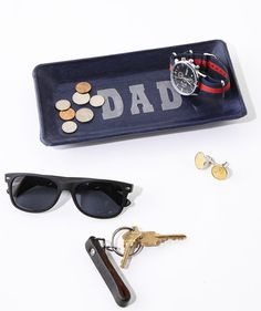 A pair of well-worn pants gets new life as a cool catchall for change, keys, and other small accessories.