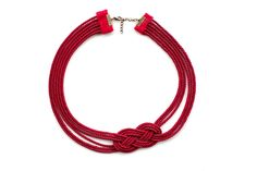 Make a Gorgeous Nautical Knot Rope Necklace #DIY #crafts