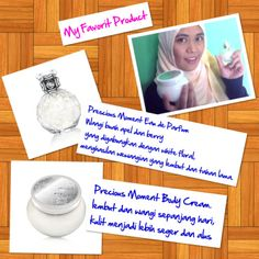Minyak wangi dan bodycream favoritku