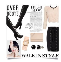 """""""walk the walk"""" by smillafrilla ❤ liked on Polyvore featuring Aquazzura, Coast, Exclusive for Intermix, Michael Kors, Michele and Belk & Co."""