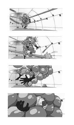 Storyboard: Suspicious Bob - The Incredibles (2004) // Ricardo Curtis