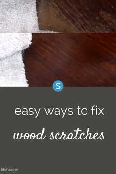 Using this olive oil and vinegar mixture is an easy way fix scratched wood furniture. See for yourself here: http://simplemost.com/easy-way-fix-scratches-wood-furniture-olive-oil-and-some-vinegar?utm_campaign=social-account&utm_source=pinterest&utm_medium=organic&utm_content=pin-description