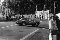 "luimartins: ""Alfa Romeo 2000 GTA on three wheels at La Source - Spa-francorchamps 1971 """