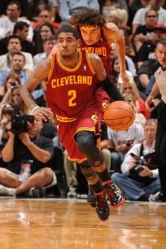 Kyrie Irving Cleveland Cavaliers Anderson Varejao