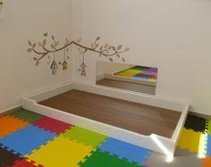 Montessori Spiegel x Baby - Baby Zimmer Bedroom Loft, Baby Bedroom, Baby Boy Rooms, Home Decor Bedroom, Kids Bedroom, Man Room, Girl Room, Baby Decor, Kids Decor