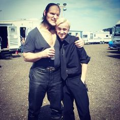 Felton and Dave Legeno