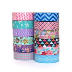 Washi Tape bundle, card making, craft, deco tape, masking tape scrapbooking
