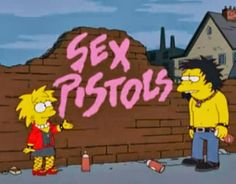 Above simpsons sex pistols episode sense